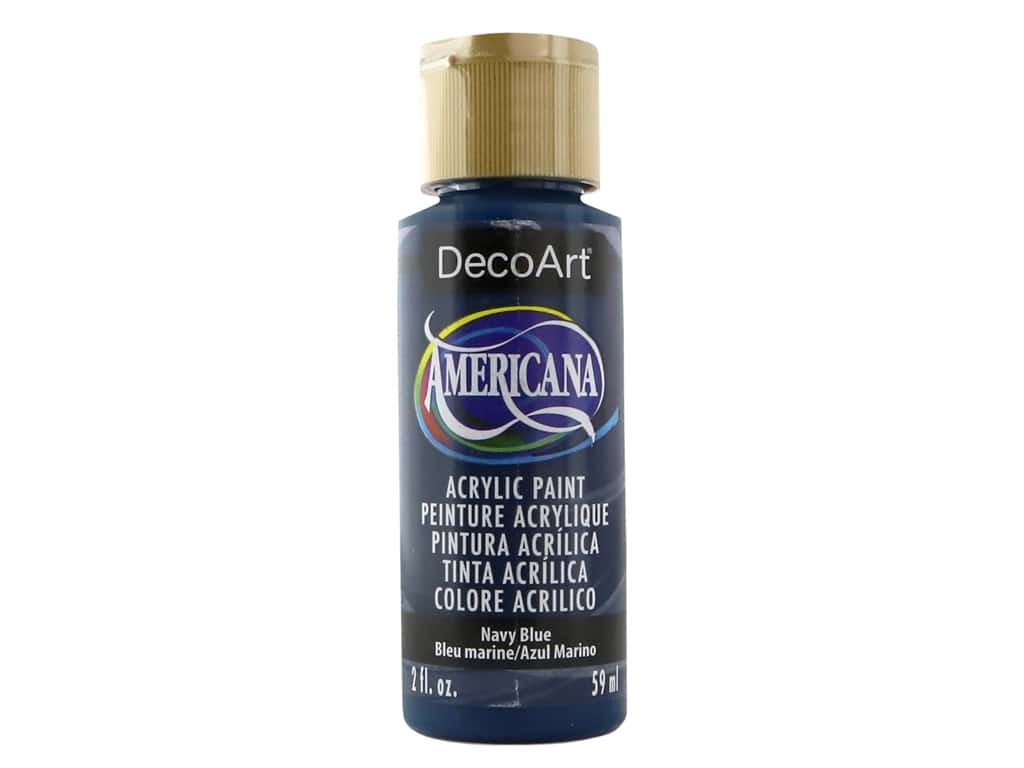 DecoArt Americana Acrylic Paint 2 oz. #035 Navy Blue