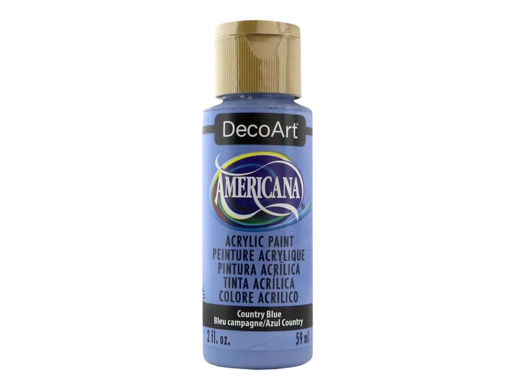 DecoArt Americana Acrylic Paint 2 oz. #041 Country Blue