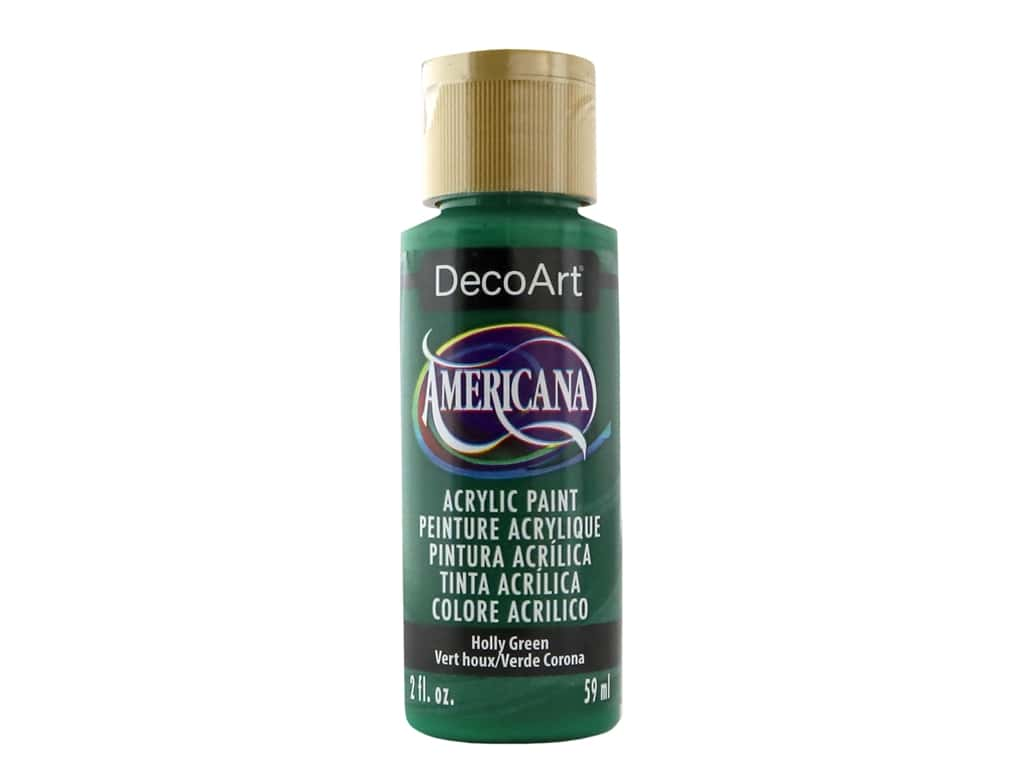 DecoArt Americana Acrylic Paint 2 oz. #048 Holly Green