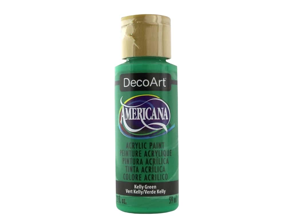 DecoArt Americana Acrylic Paint 2 oz. #055 Kelly Green