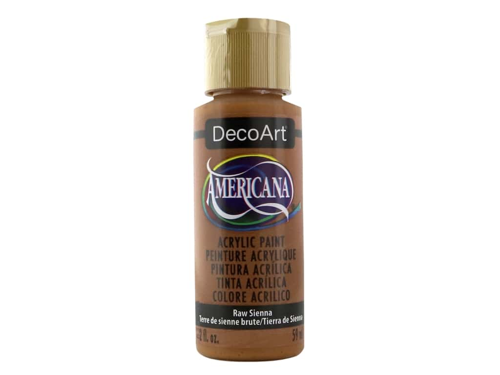 DecoArt Americana Acrylic Paint 2 oz. #093 Raw Sienna