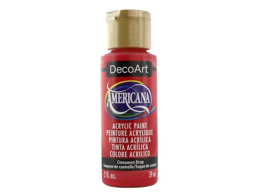 DecoArt Americana Acrylic Paint 2 oz. #308 Cinnamon Drop