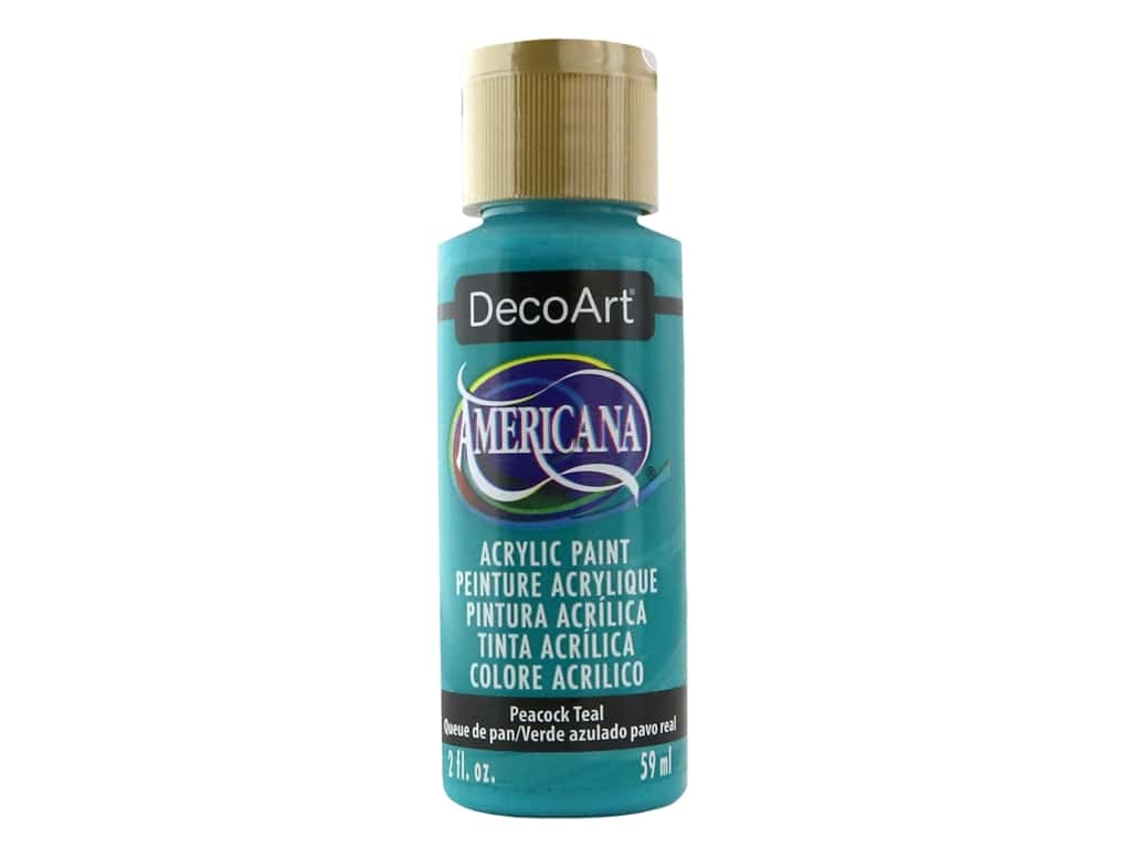 DecoArt Americana Acrylic Paint 2 oz. #326 Peacock Teal