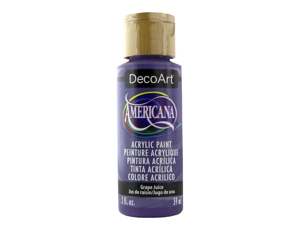 DecoArt Americana Acrylic Paint - #236 Grape Juice 2 oz.