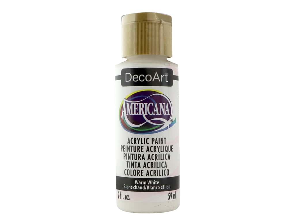 DecoArt Americana Acrylic Paint 2 oz. #239 Warm White