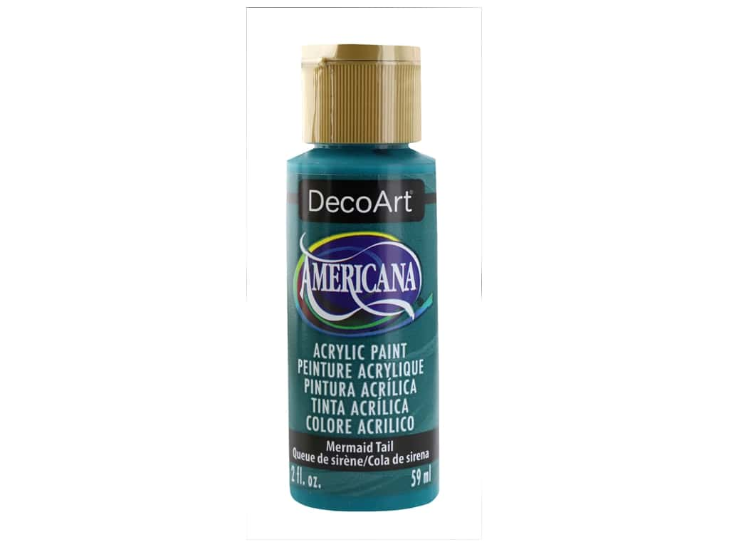 DecoArt Americana Acrylic Paint 2 oz Mermaid Tail