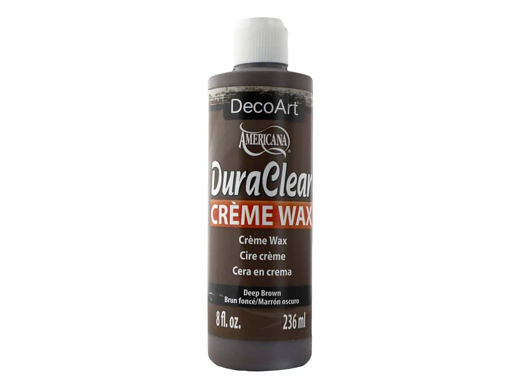 DecoArt Americana Creme Wax Deep Brown 8 oz