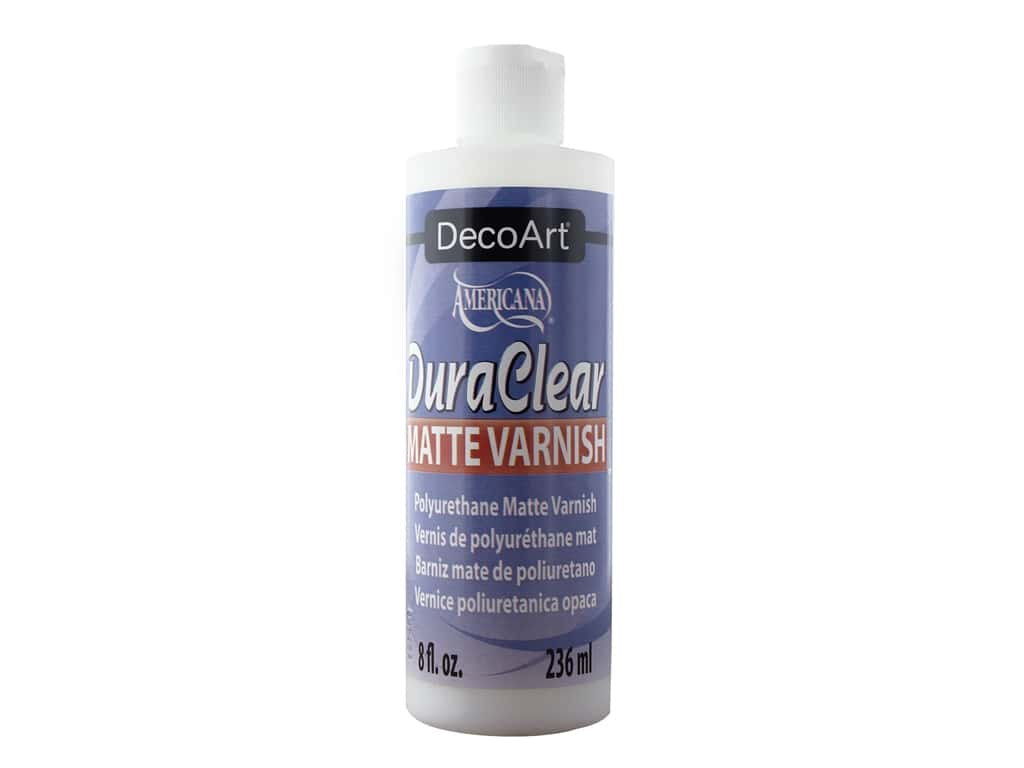 DecoArt Americana DuraClear Varnish Matte 8 oz