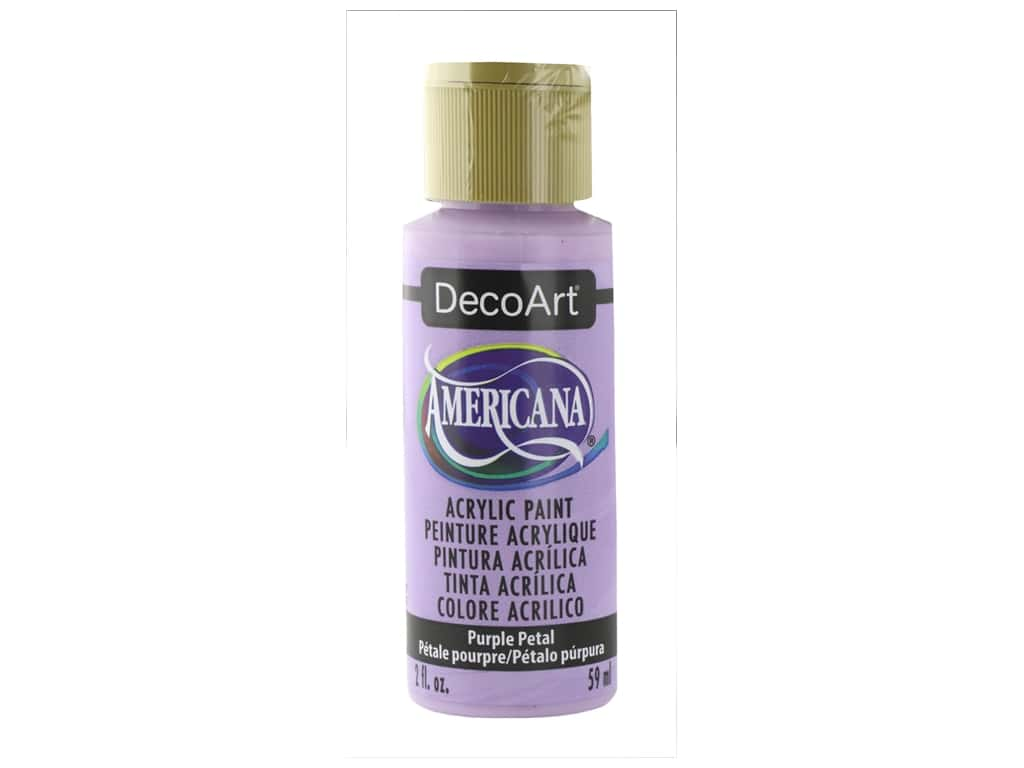 DecoArt Americana Acrylic Paint 2 oz Purple Petal