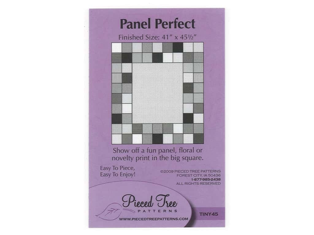 Pieced Tree Patterns Panel Perfect Pattern - Tiny 45