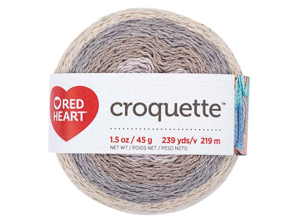 Red Heart Croquette Yarn 239 yd. Stonehenge