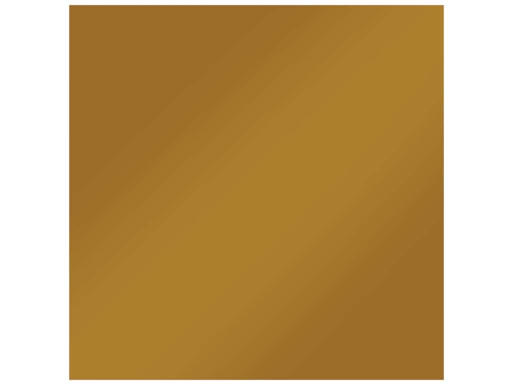 Bazzill Cardstock 12 in. x 12 in. Foil Matte Gold (15 pieces)