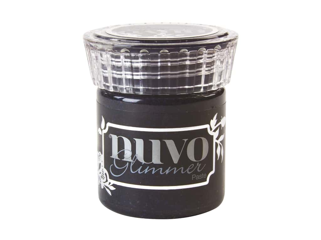 Nuvo Glimmer Paste 1.7 oz. Black Diamond