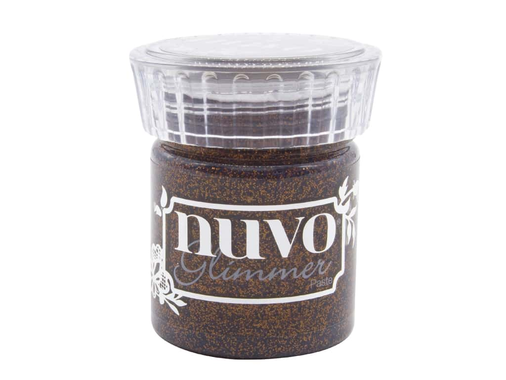 Nuvo Glimmer Paste 1.7 oz. Rich Cocoa