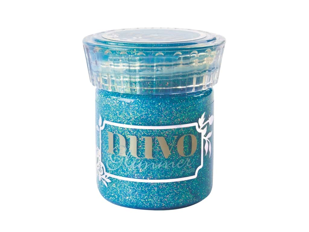 Nuvo Glimmer Paste 1.7 oz. Blue Topaz