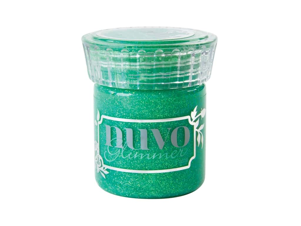 Nuvo Glimmer Paste 1.7 oz. Peridot Green