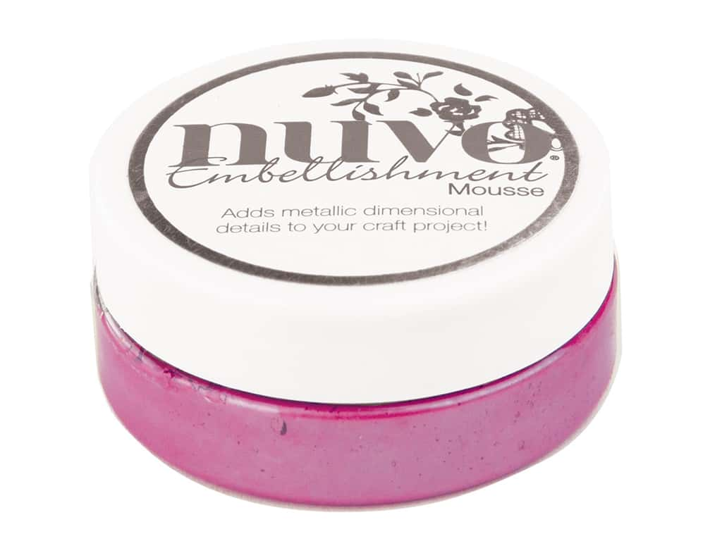 Nuvo Embellishment Mousse 2.2 oz. English Heather