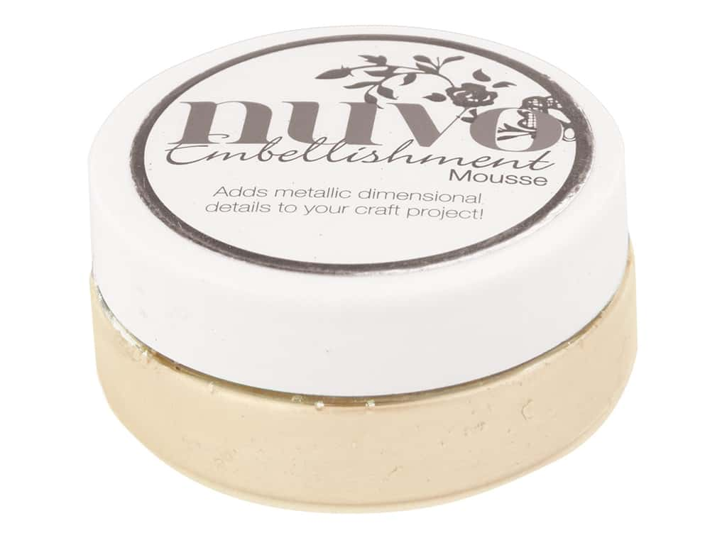 Nuvo Embellishment Mousse 2.2 oz. Toasted Almond