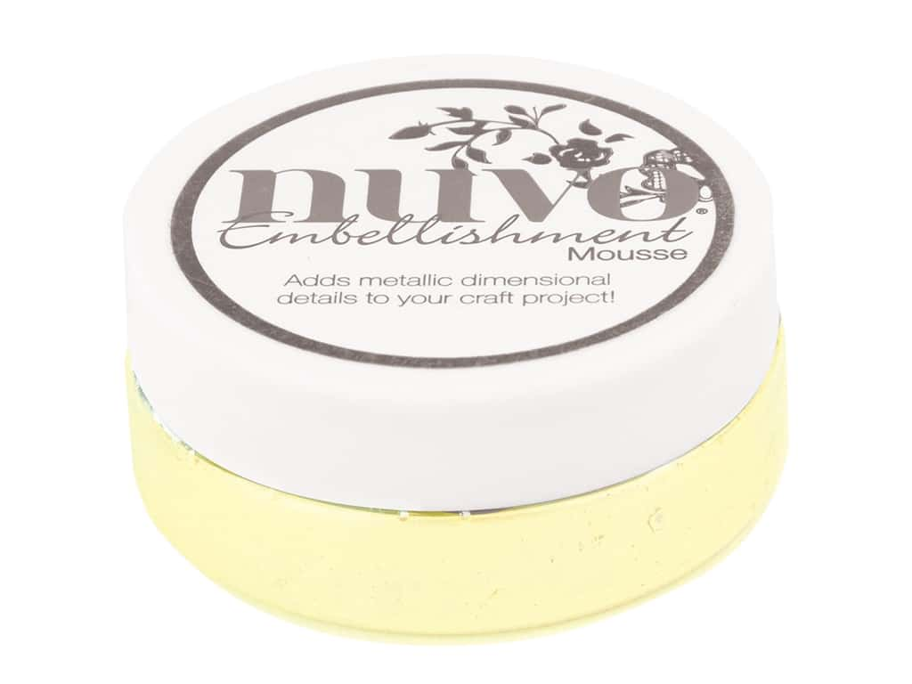 Nuvo Embellishment Mousse 2.2 oz. Custard Cream