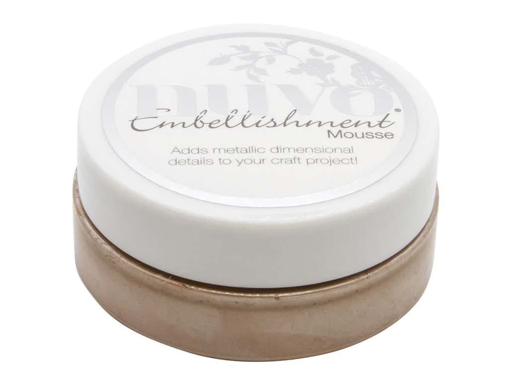 Nuvo Embellishment Mousse 2.2 oz. Soft Truffle