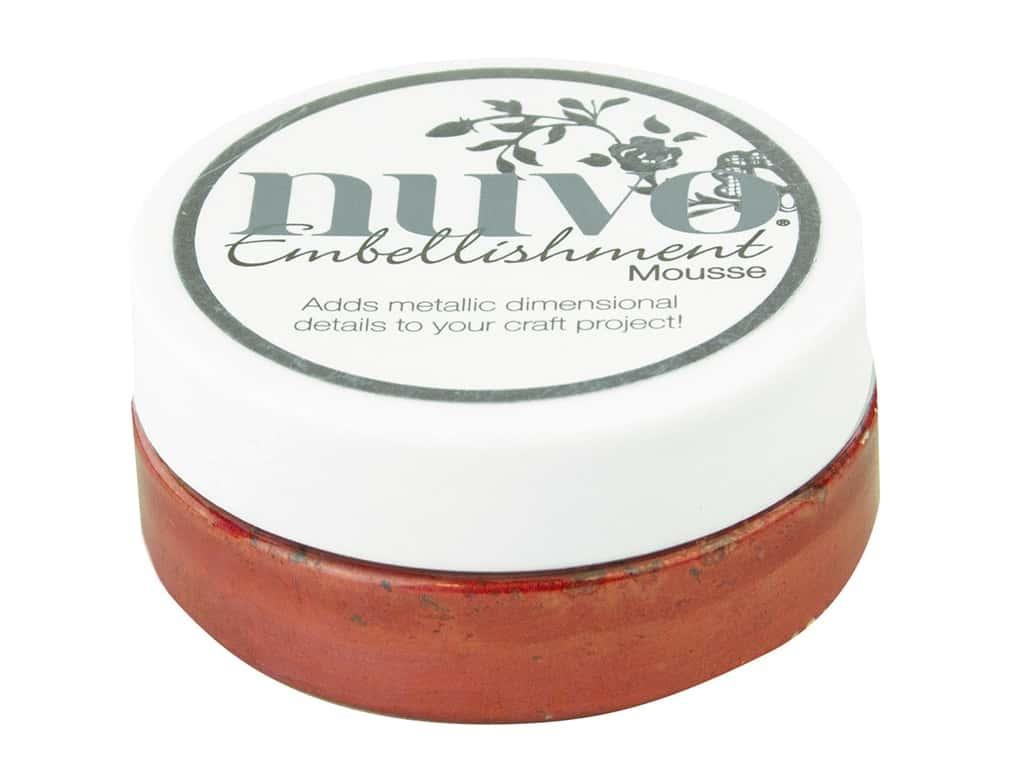 Nuvo Embellishment Mousse 2.2 oz. Persian Red