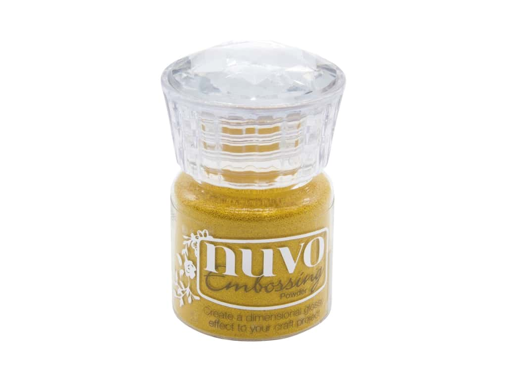 Nuvo Embossing Powder Golden Sunflower .7 oz
