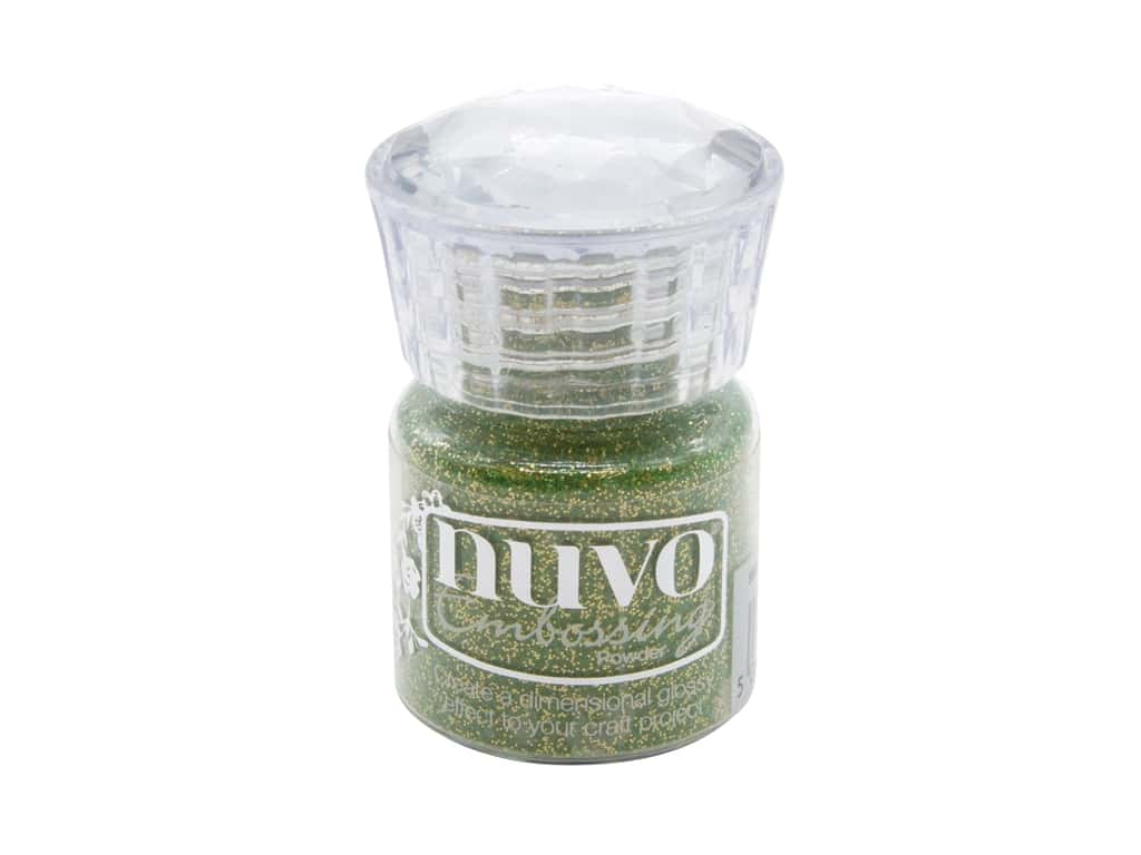 Nuvo Embossing Powder Glitter Magical Woodland .7 oz