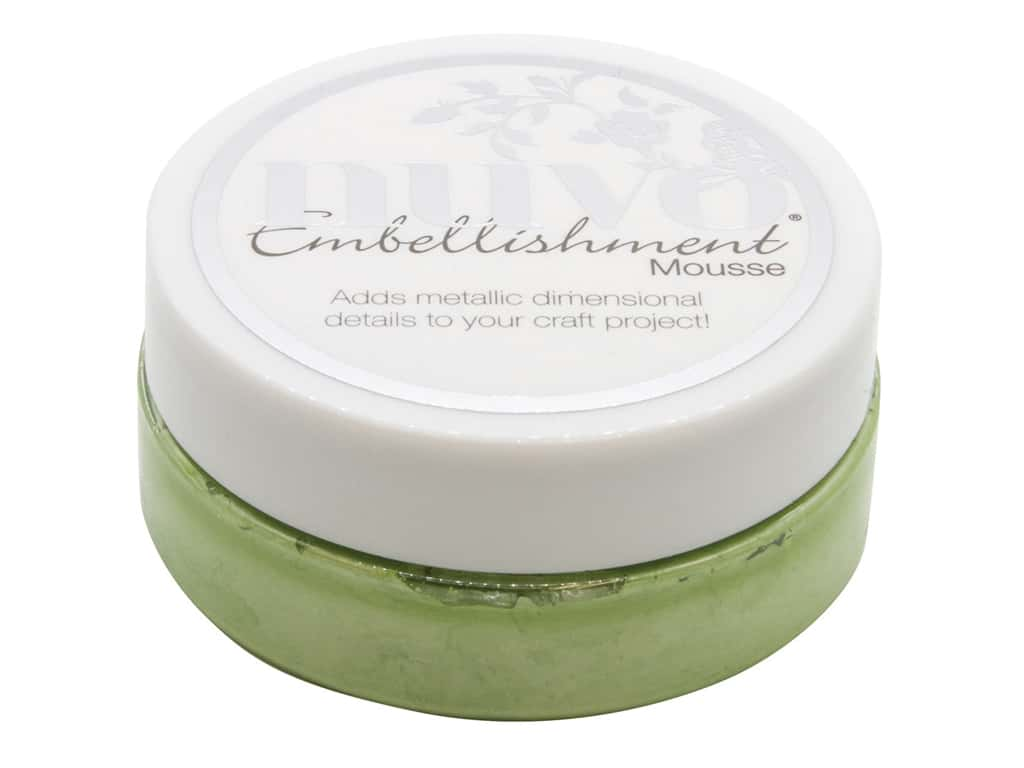 Nuvo Embellishment Mousse 2.2 oz. Forest Green