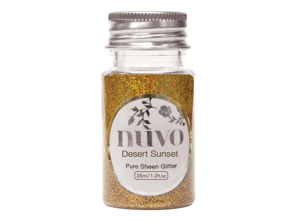 Nuvo Pure Sheen Glitter 1.2 oz. Desert Sunset