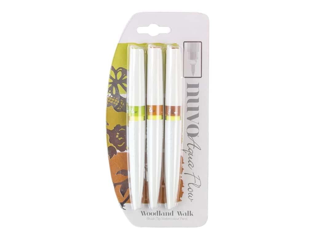 Nuvo Aqua Flow Pens 3 pc. Woodland Walk