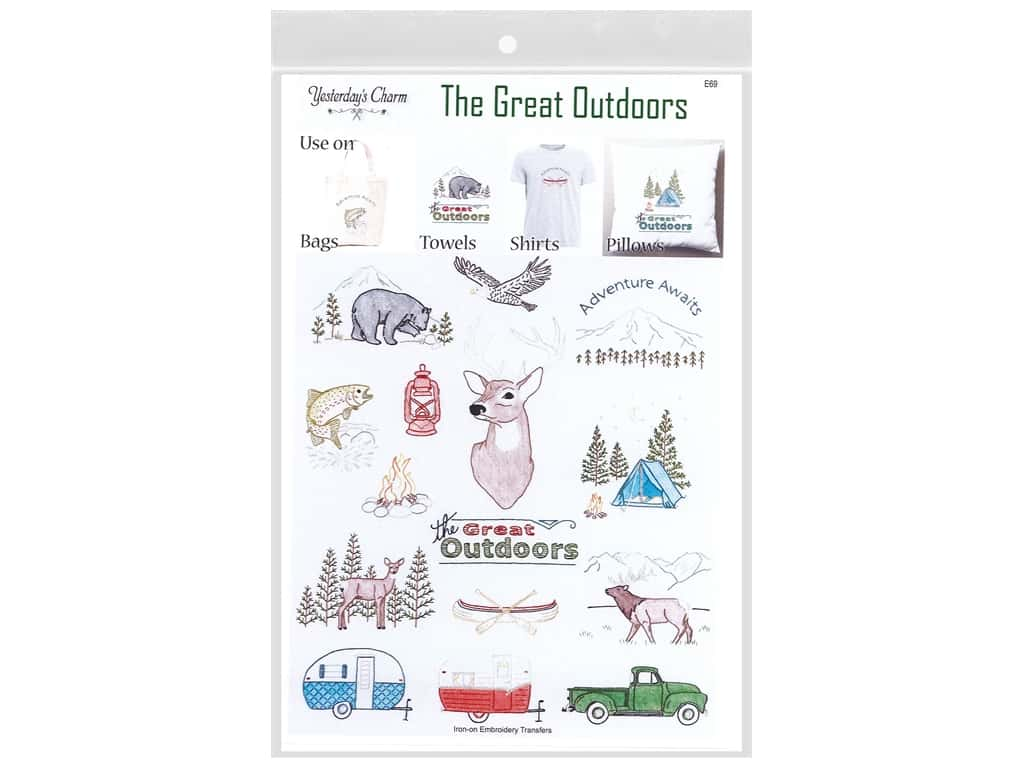 Yesterday's Charm The Great Outdoors Pattern
