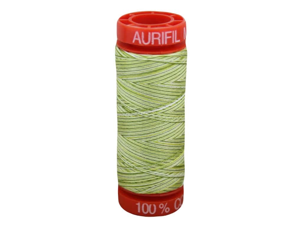 Aurifil Thread Cotton Mako 50 wt 200 M Variegated Spring Prairie