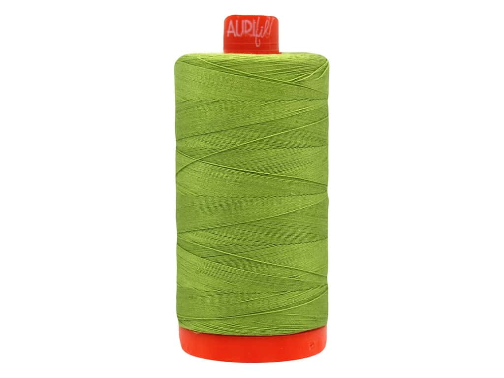 Aurifil Thread Cotton Mako 50 wt 1300 M Olive Green