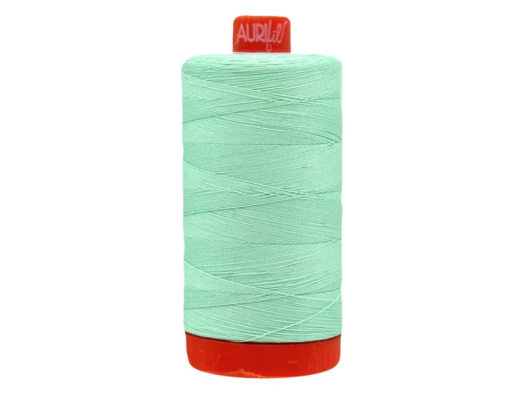 Aurifil Thread Cotton Mako 50 wt 1300 M Medium Mint