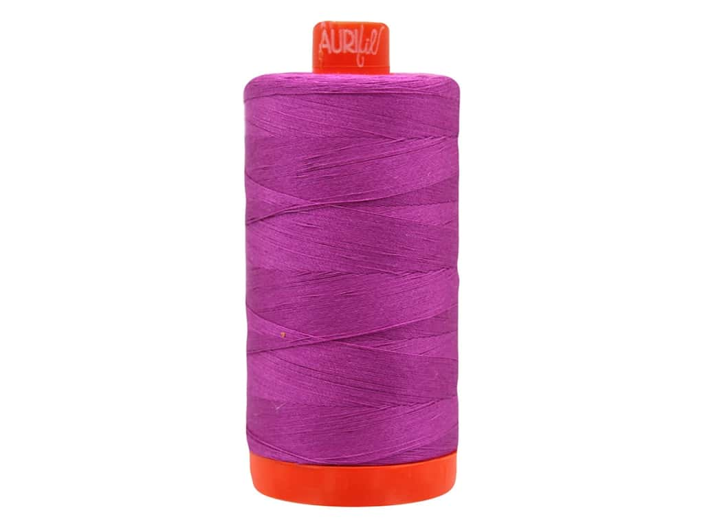 Aurifil Thread Cotton Mako 50 wt 1300 M Magenta