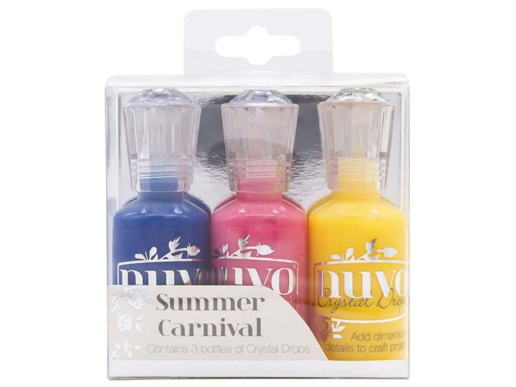 Nuvo Crystal Drops 3 pc. Summer Carnival