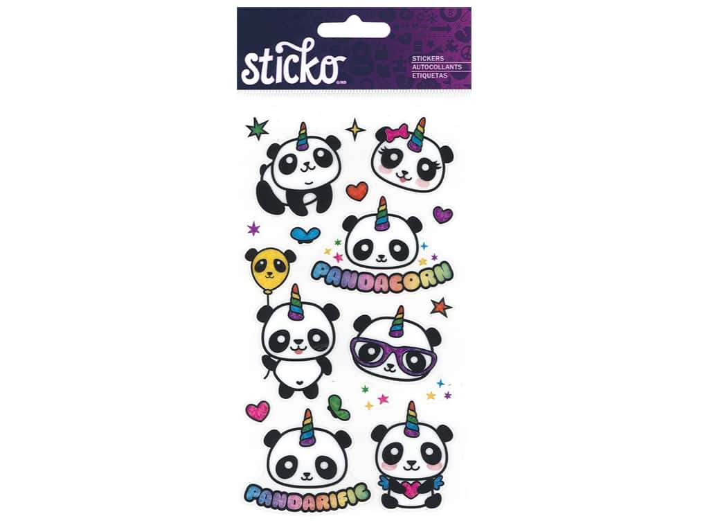 EK Sticko Stickers Pandacorn