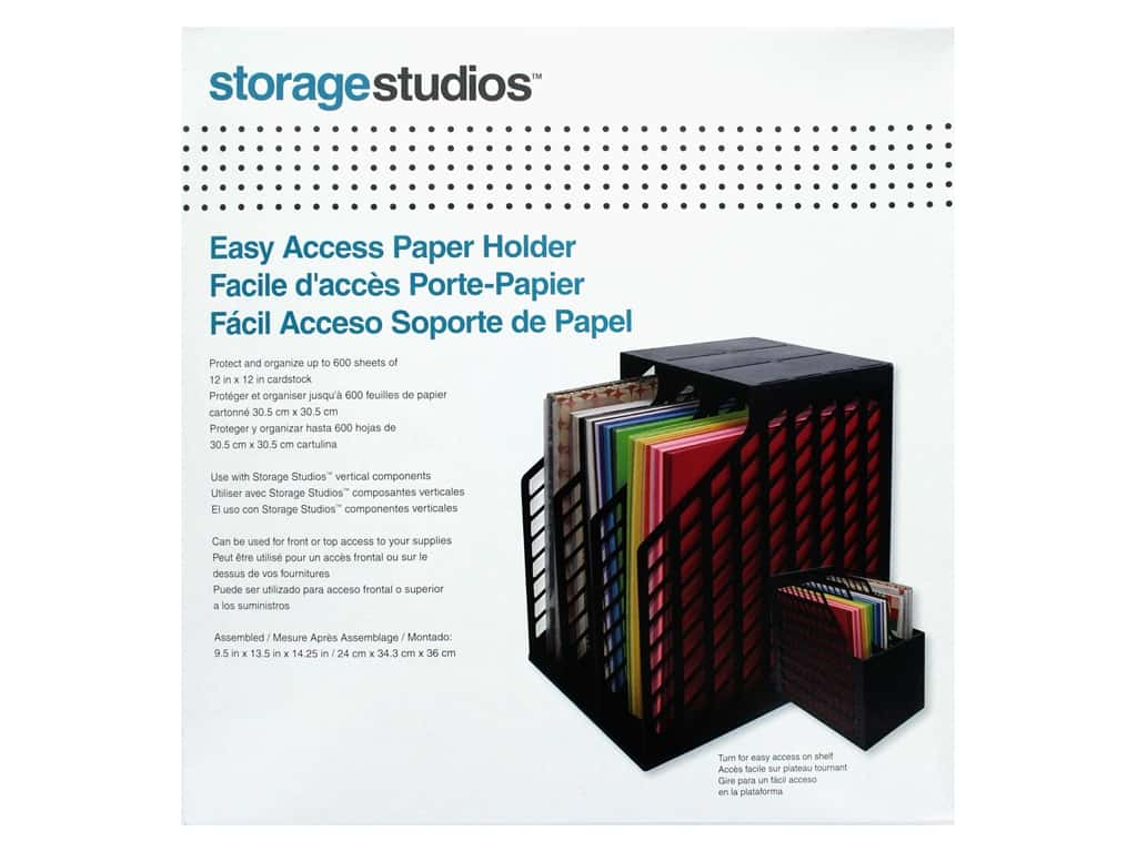 Storage Studios Organizers Easy Access Paper Holder