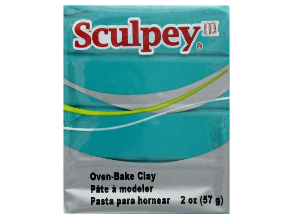 Sculpey III Clay 2 oz Teal