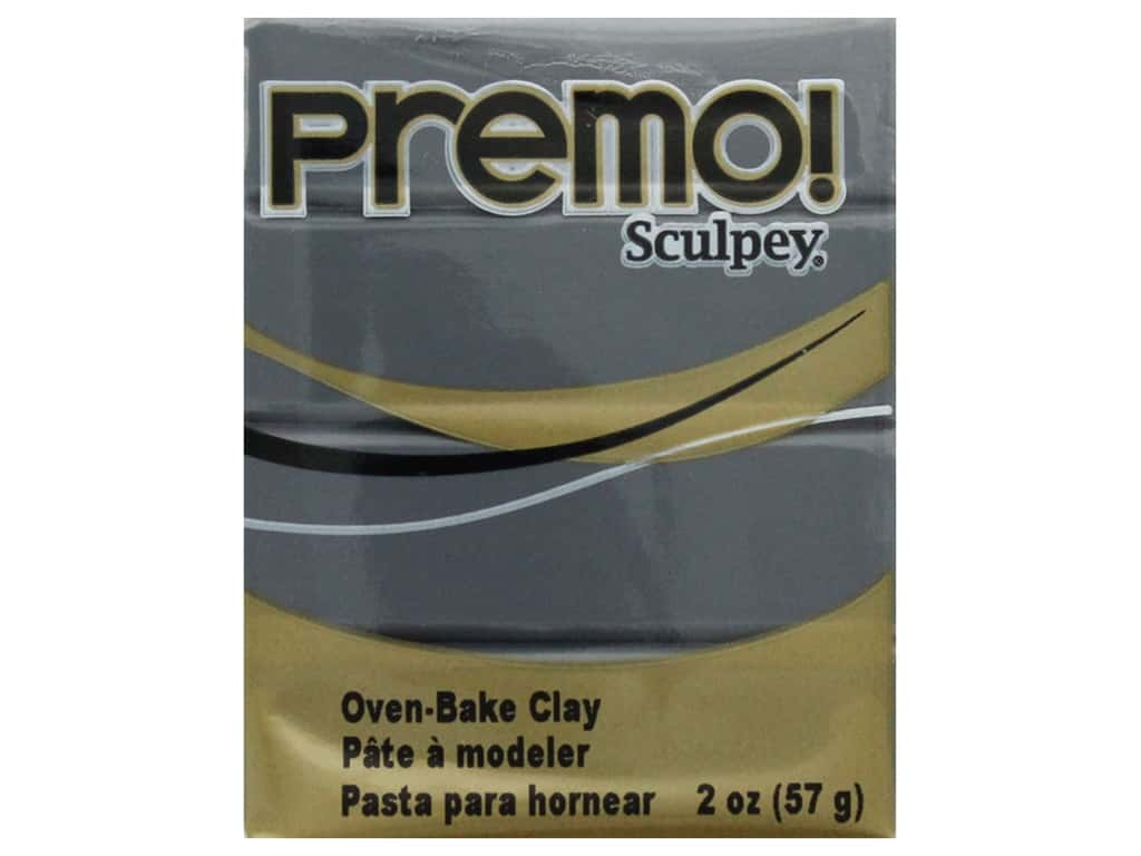 Premo Polymer Clay 2 oz Slate Gray