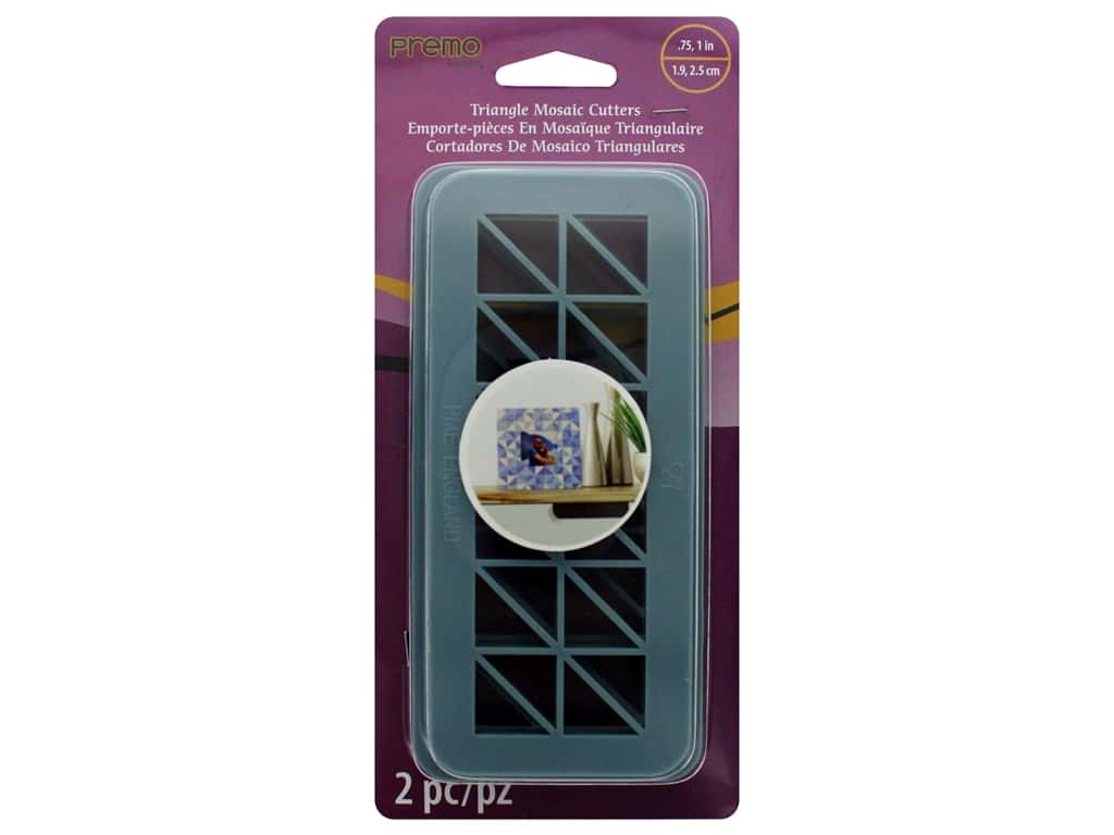Premo Tools Triangle Mosaic Cutter Set 2 pc