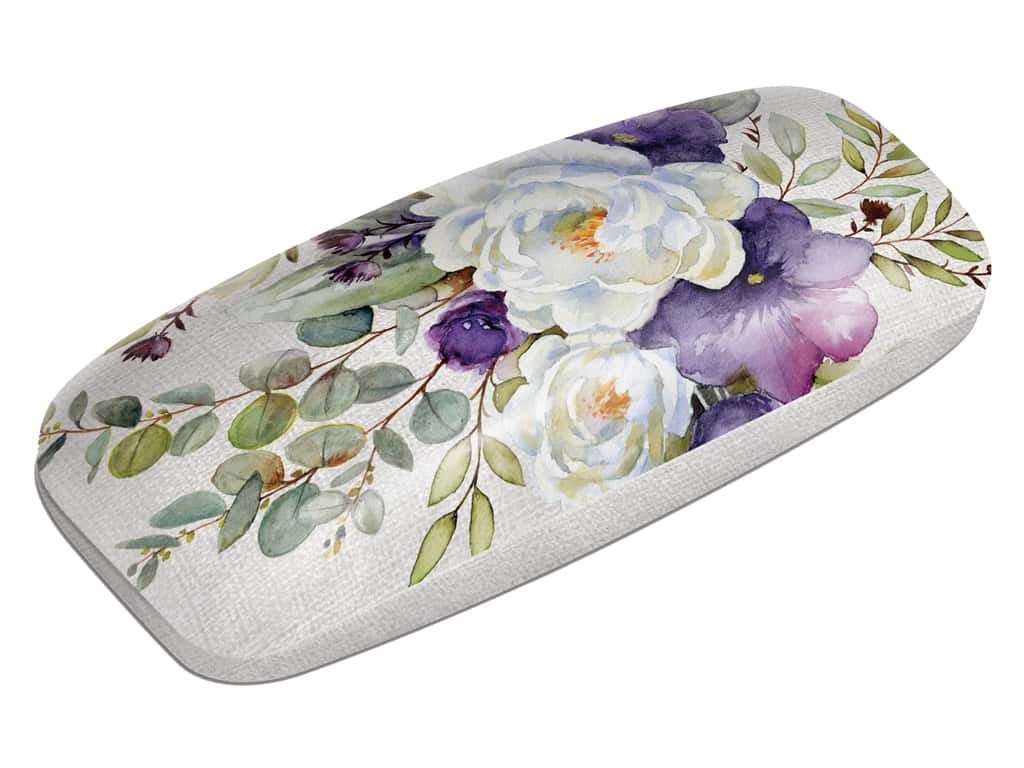 Punch Studio Eyeglass Case Purple Bouquet