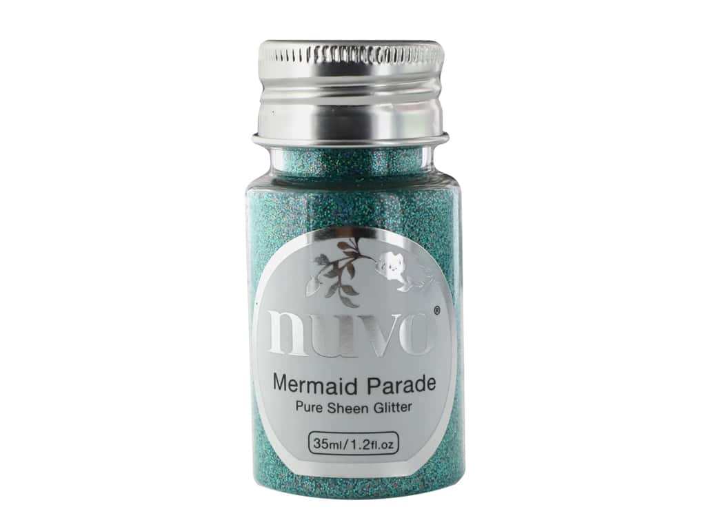 Nuvo Pure Sheen Glitter 1.2 oz. Mermaid Parade