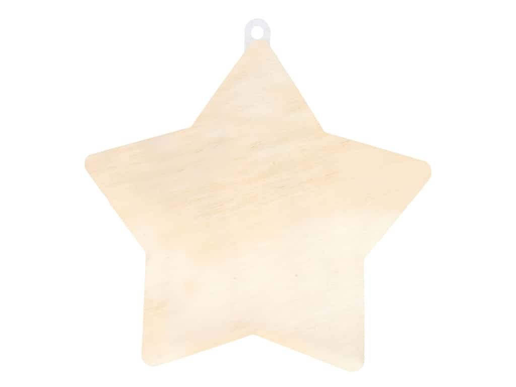 Multicraft Wood Wall Plaque Star