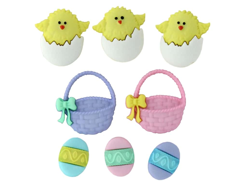 Jesse James Dress It Up Embellishments Easter Collection Easter Basket