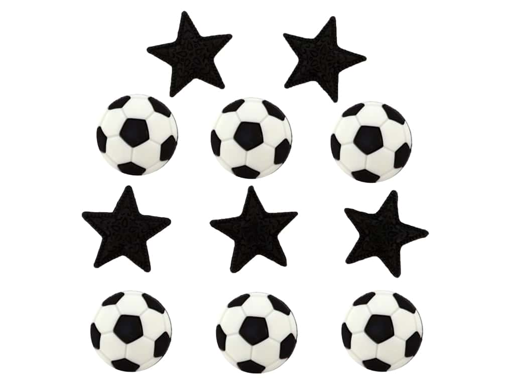 Jesse James Embellishments - Sports Soccer