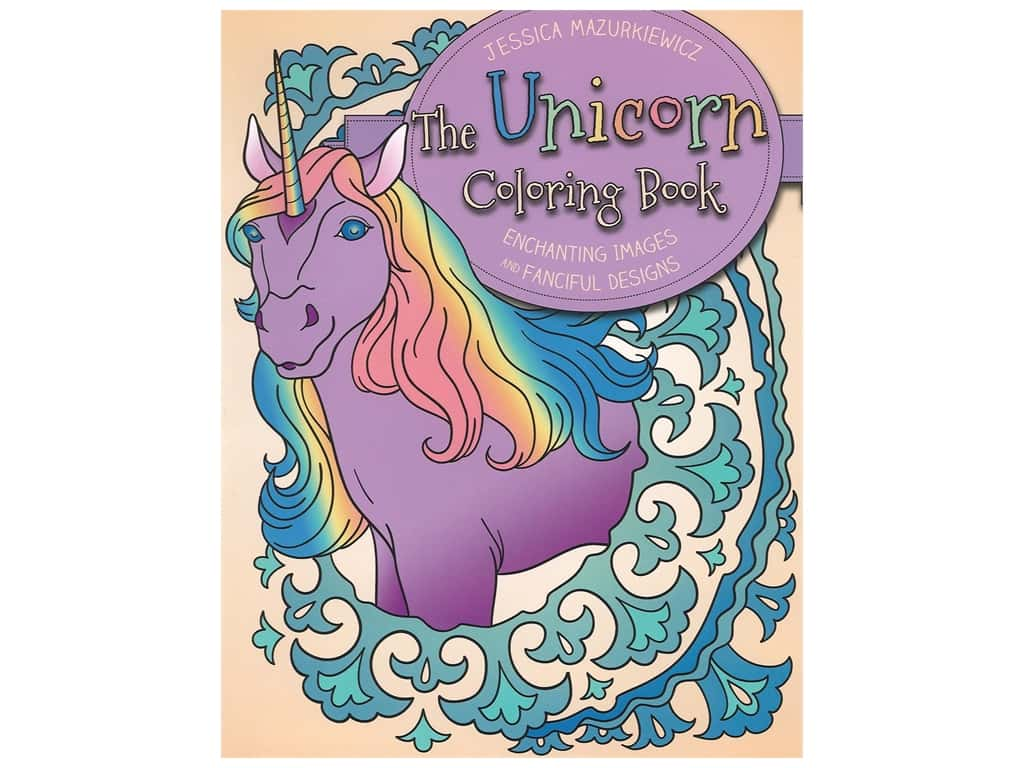 Racehorse Publishing The Unicorn Coloring Book