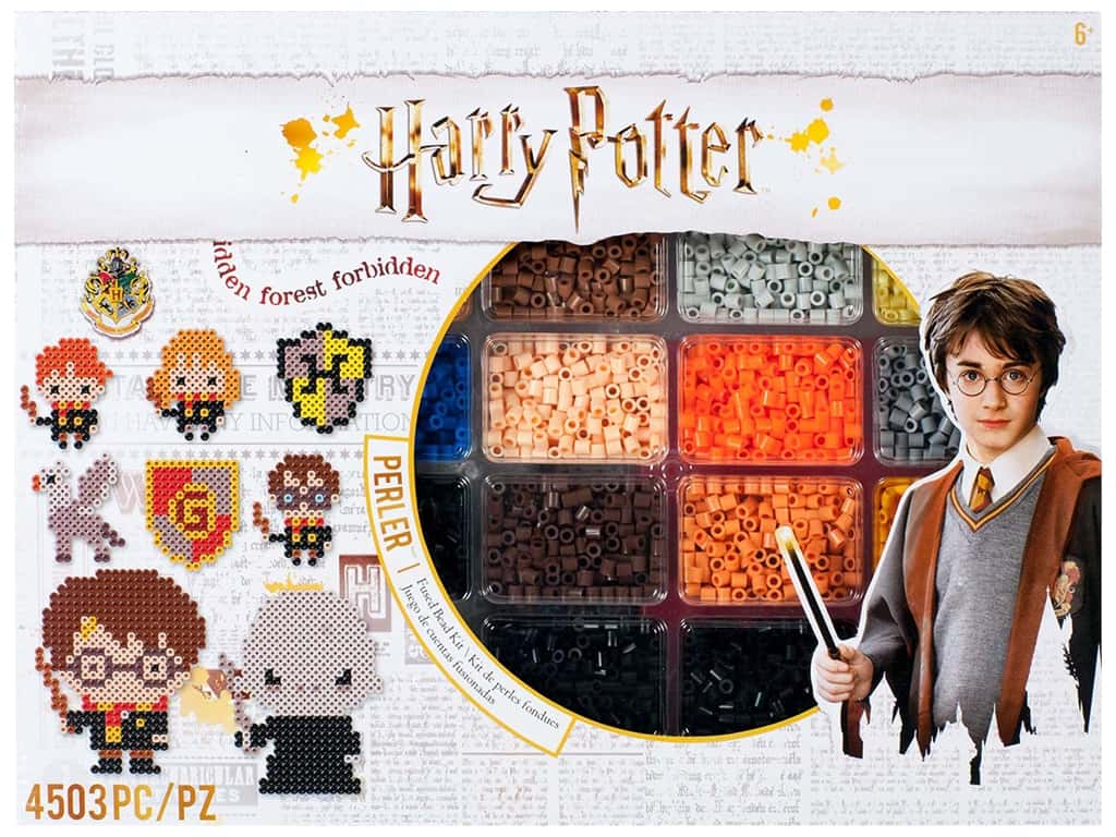 Perler Fused Bead Kit Deluxe Warner Bros Harry Potter 4500 pc