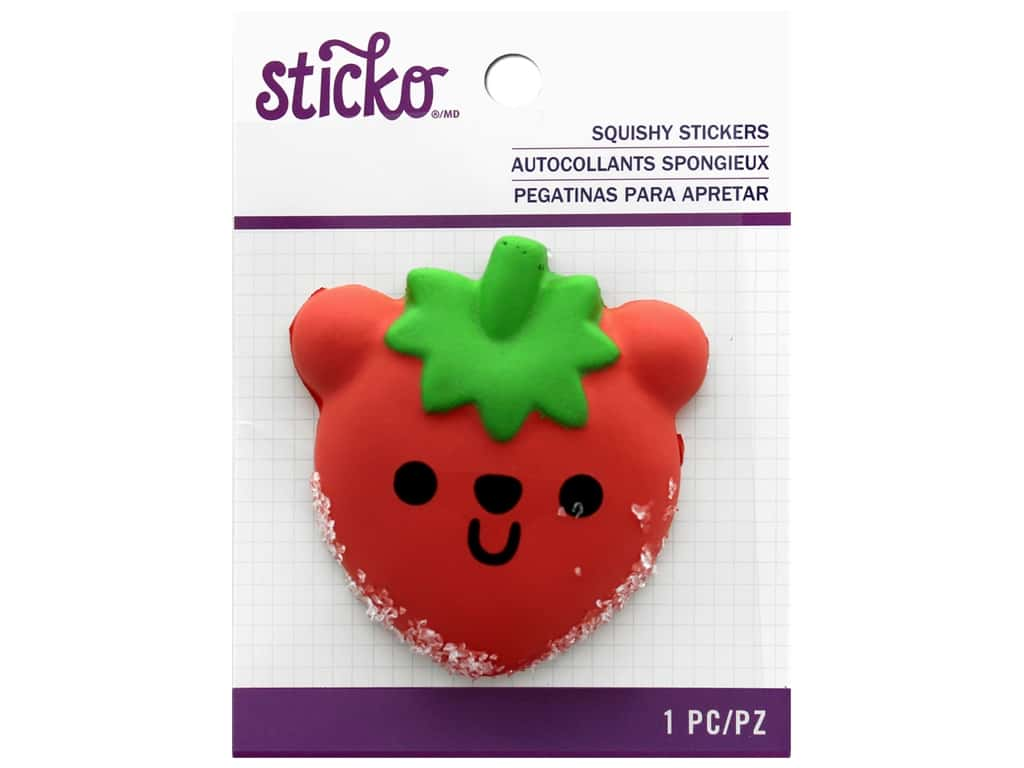 EK Sticko Stickers Squishy Beary