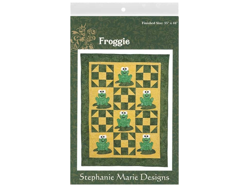 Stephanie Marie Designs Froggie Pattern